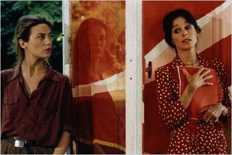 L'amour par terre 1984 réal : Jacques Rivette Géraldine Chaplin Jane Birkin COLLECTION CHRISTOPHEL