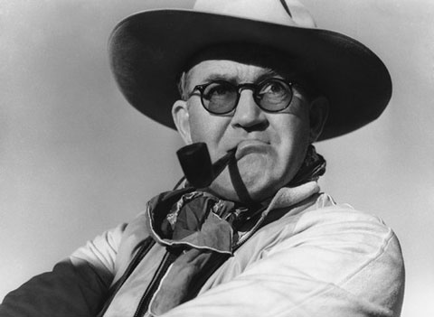 """Here's a colorful portrait of John Ford during the making of """"Stagecoach,"""" one of his three classic films released in 1939 (along with """"Young Mr. Lincoln"""" and """"Drums along the Mohawk"""")."""