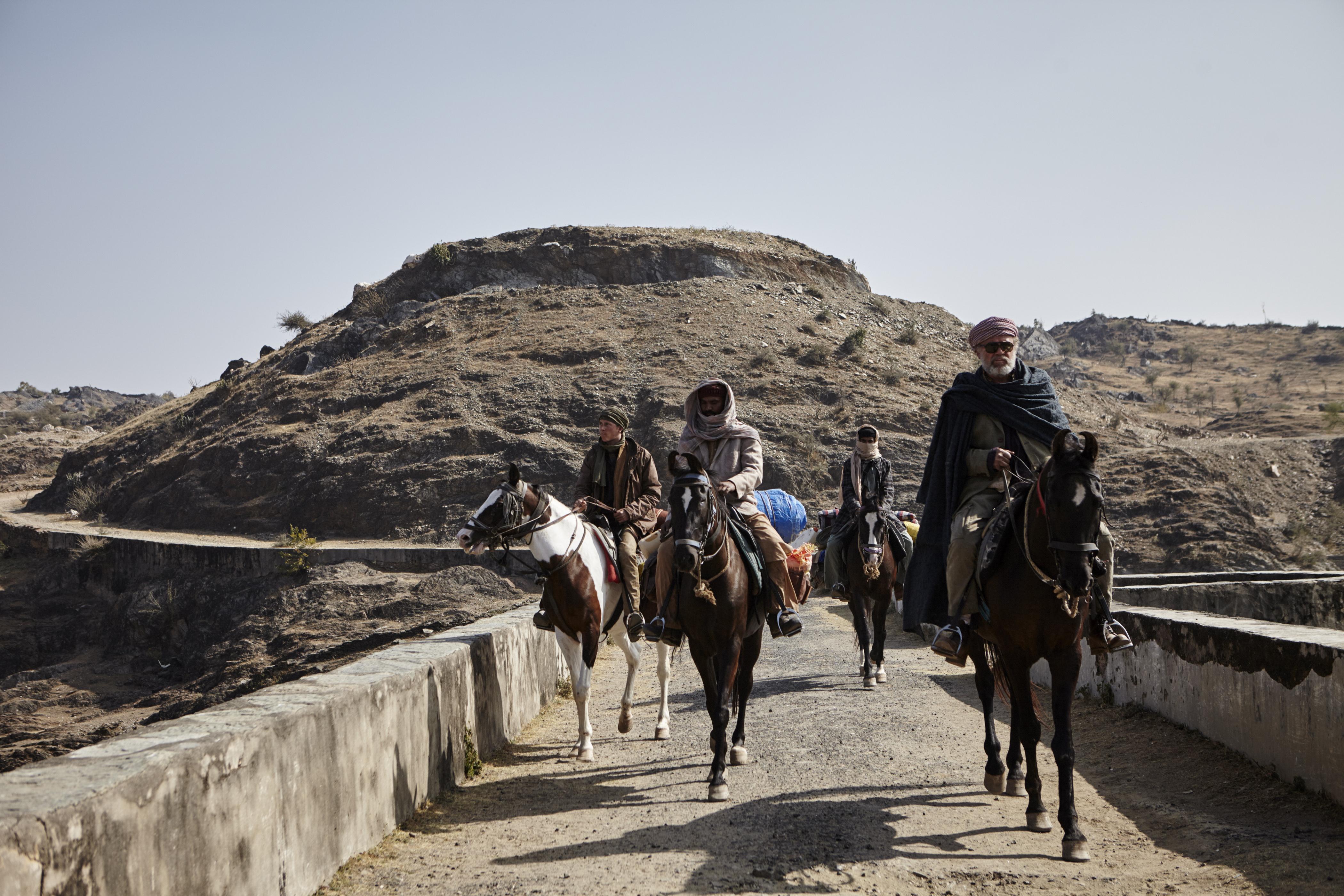 """Udaipur, Inde. 16 janvier 2015. Tournage du film """"Les Cow-Boys"""" (réalisateur : Thomas Bidegain). Photo : Antoine Doyen"""