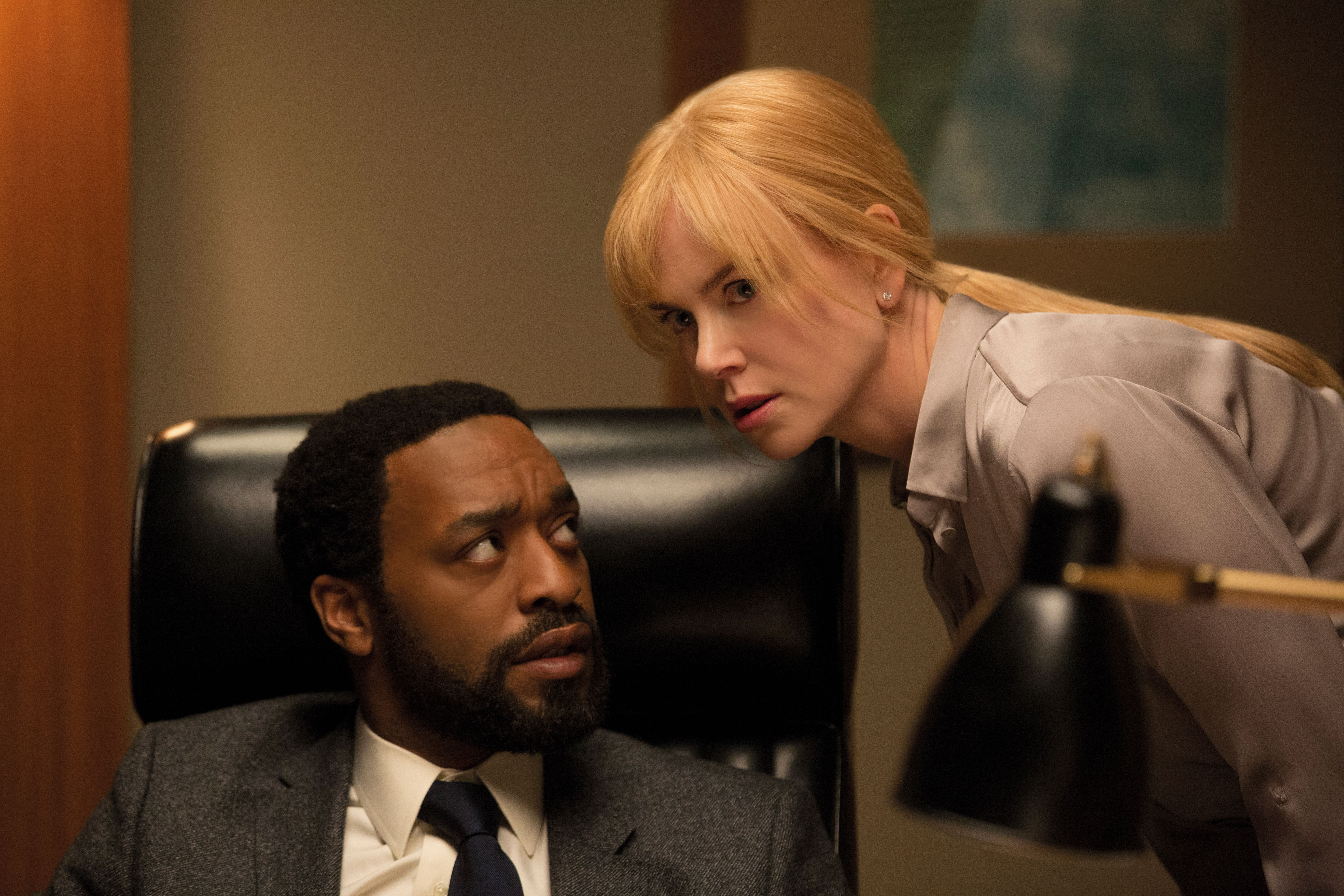 (L-R) CHIWETEL EJIOFOR and NICOLE KIDMAN star in SECRET IN THEIR EYES.
