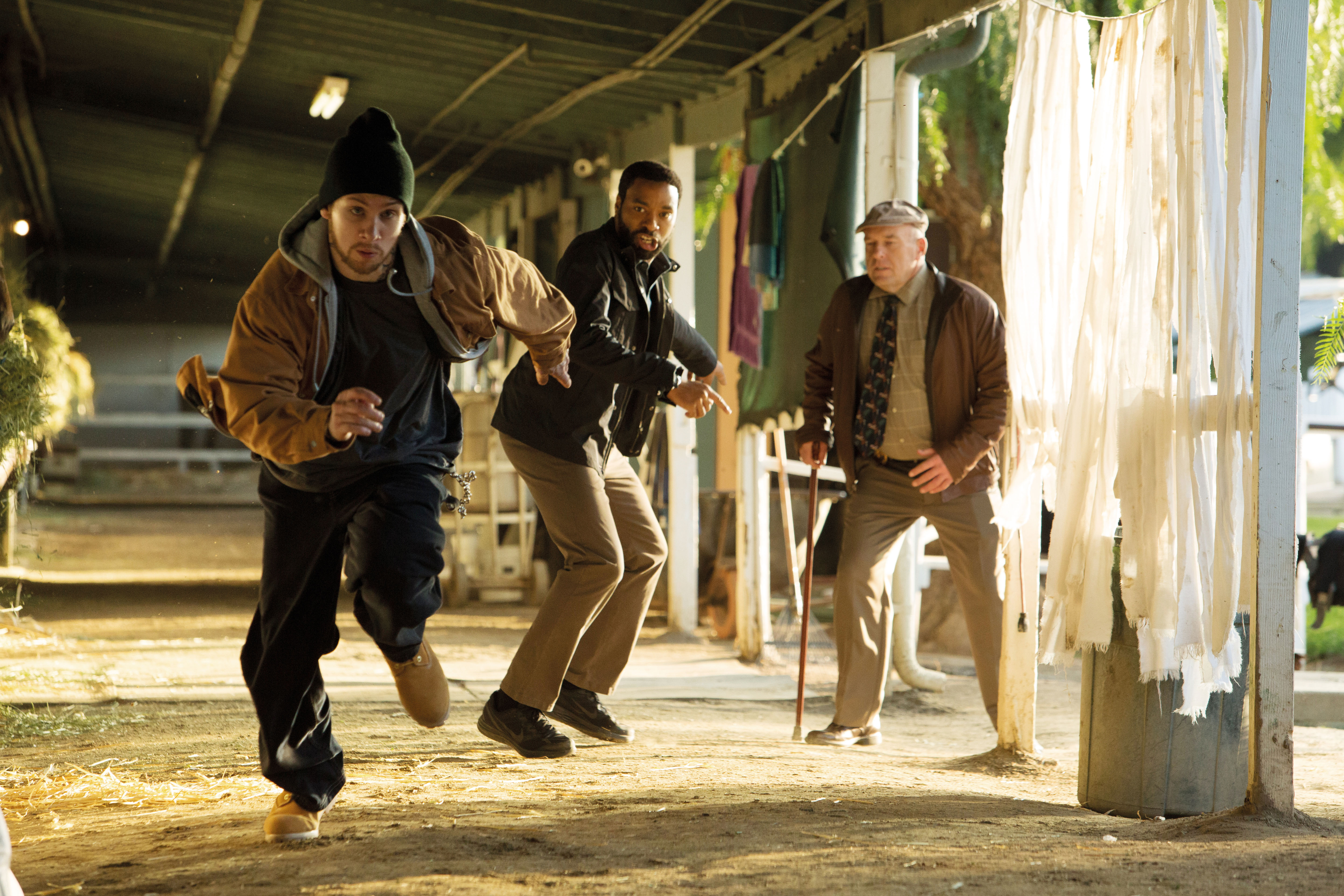 (L-R) JOE COLE, CHIWETEL EJIOFOR, and DEAN NORRIS star in SECRET IN THEIR EYES.
